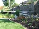 kerti tó kertervezés álomkert kertépítés szép kert, szép kertek pihenőkert, borospince - 1024x768 pixel - 393815 byte