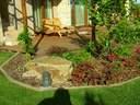 kerti tó kertervezés álomkert kertépítés szép kert, szép kertek pihenőkert - 1024x768 pixel - 370100 byte