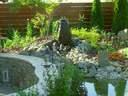 kerti tó kertervezés álomkert kertépítés szép kert, szép kertek pihenőkert - 1024x768 pixel - 336206 byte