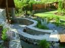 kerti tó kertervezés álomkert kertépítés szép kert, szép kertek pihenőkert - 1024x768 pixel - 339815 byte